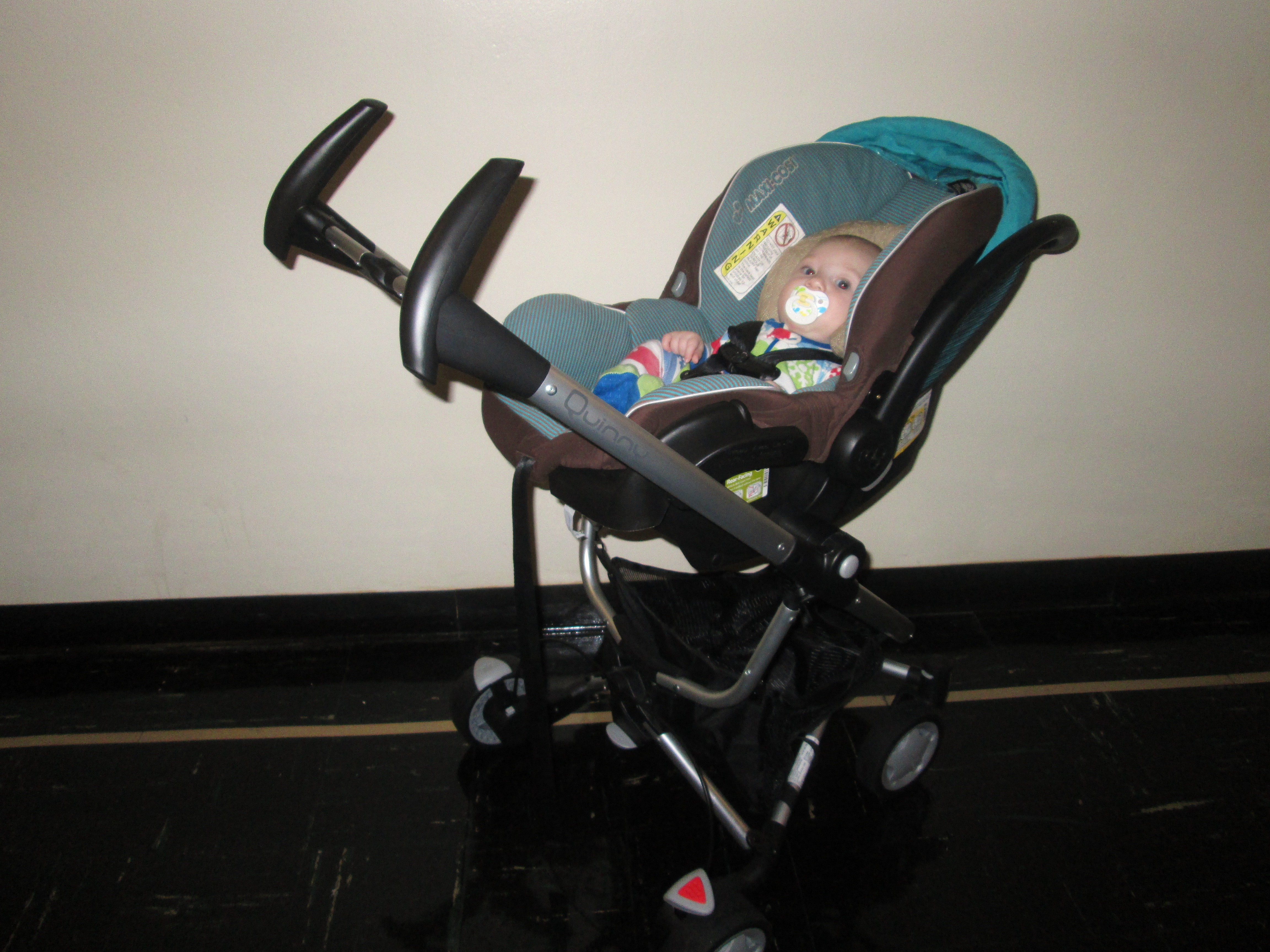 Quinny Zapp Xtra With Folding Seat: A Super-Compact Fold for a Rear